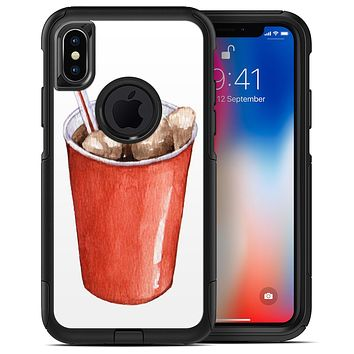 Watercolored Red Solo Cup - iPhone X OtterBox Case & Skin Kits