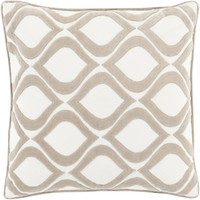 Alexandria Throw Pillow Neutral, Neutral