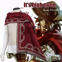 Overwatch Cosplay McCree Poncho