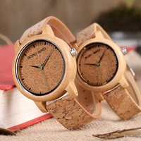BOBO BIRD Bamboo Mens Watch