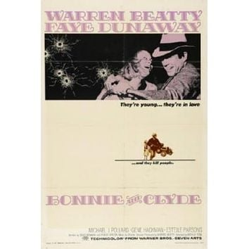 Bonnie And Clyde Movie 8x10 photo