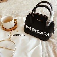 Balenciaga Women Leather Shoulder Bag Satchel Tote Bag Handbag Shopping Leather Tote Crossbody Satchel Shouder Bag