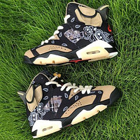 Nike Air Jordan 46Retro AJ4 casual sports basketball shoes heel cushion basketball shoes sneakers