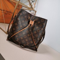 Kuyou Lv Louis Vuitton Gb29714 M44022 Monogram Brown Handbags Cross Body Bags Neonoe 26*22*27cm