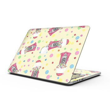 The Fun Colorful Gumball Machine Pattern - MacBook Pro with Retina Display Full-Coverage Skin Kit
