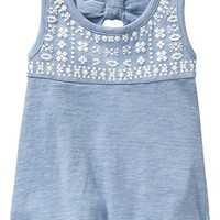 Old Navy Patterned Yoke Tanks For Baby