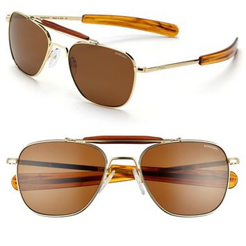 Men's Randolph Engineering 'Aviator II' 55mm Polarized Sunglasses