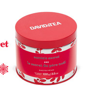 Santa's Secret Collectible Tin - Mint Black Tea With Candy Cane Sprinkles – In A Limited Edition Tin | DavidsTea