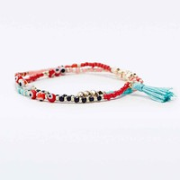 Festival Stretch 2-Row Bracelet - Urban Outfitters