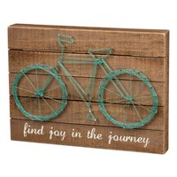 Primitives by Kathy 'Find Joy in the Journey' String Art Box Sign | Nordstrom