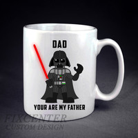 DAD Darth Vader You're My Father Personalized mug/cup