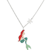 Disney The Little Mermaid Ariel Glitter Necklace | Hot Topic