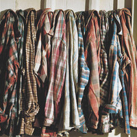 Mystery Vintage Flannel shirt mens oversized