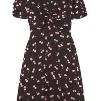 Miu Miu - Printed crepe dress
