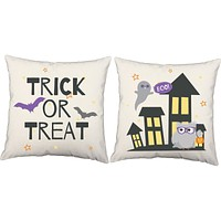Boo Buddies Halloween Throw Pillows