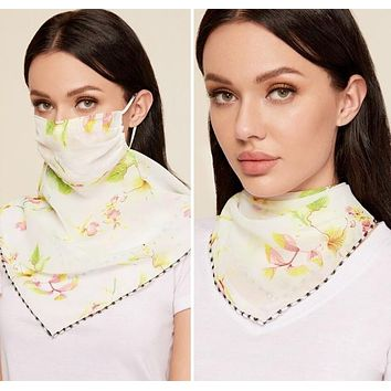 1 Fits All - GreenYPC - Face Mask Scarf