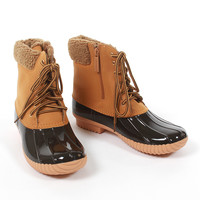 Puddle Jumper Duck Boots - Wheat