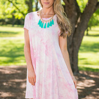 Into The Mystic Dress, Pink