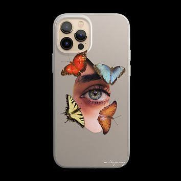 The Butterfly Effect - Clear TPU - iPhone Case