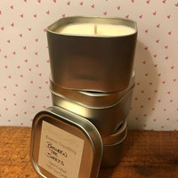 Sensuality 3 pack Scent Sampler, Soy Candle Tin 8 oz Hand Poured, Couples Gifts, Romantic gifts, Small batch, Say I love you, Free Shipping