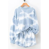 Malibu Clouds Sweater Set