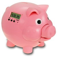 The Learning Journey Pig E Bank Pink Edition with LCD
