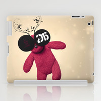 Little Pink Bear said :: Happy New Year 2015 :) '' iPad Case by LilaVert