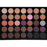 Morphe Pro 35 Color Eyeshadow Makeup Palette - Taupe Palette 35T