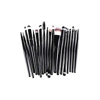 20 Piece Essential Makeup Brush Set