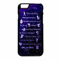 Disney Lessons Learned Mash Up iPhone 6 Plus Case