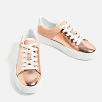 LAMINATED CHUNKY SOLE PLIMSOLLS DETAILS