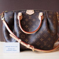 LV Women Leather Shoulder Bag Tote Handbag G