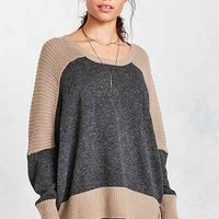 BDG Marled Colorblock Pullover Sweater - Urban Outfitters