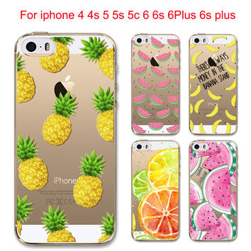 Fruity Tuttie!  Case Cover For Apple iPhone 6 6S 5 5S SE 5C 6Plus 6sPlus 4 4S
