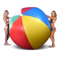 Giant 6-Foot Inflatable Beach Ball