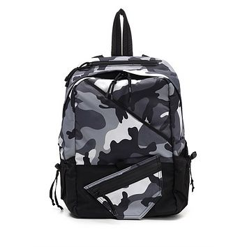 Valentino Garavani Bounce Iconic Camo Print Backpack