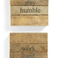 'Stay Humble' Wall Art (2-Pack)