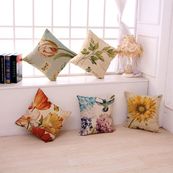 Plant Life Pillow Covers