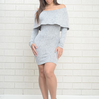 Joanna Dress-HeatherGrey