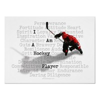 I am a Hockey Player Prints and Posters from Zazzle.com