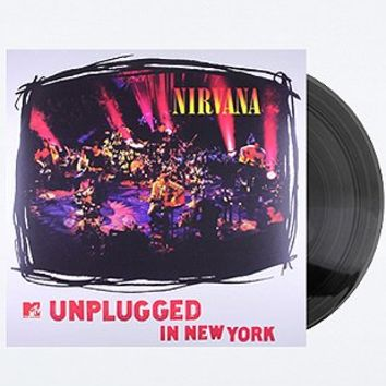 Nirvana: MTV Unplugged in New York Vinyl - Urban Outfitters