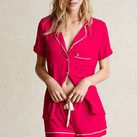 Supersoft Short PJ Set - Body by Victoria - Victoria's Secret