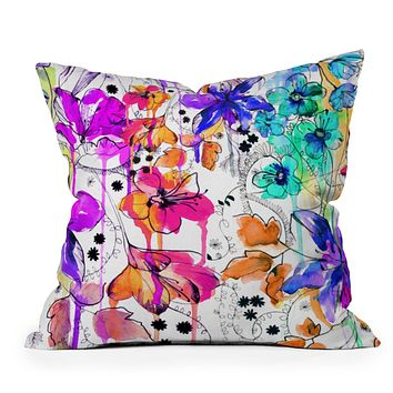 Holly Sharpe Lost In Botanica 1 Throw Pillow