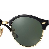 Sunglasses Ray-Ban RB4246 901 BLACK/GLASS VERDE