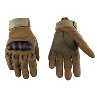 Unisex Sports Outdoor Full Finger Motocross Protective Gear Motorcycle Gloves