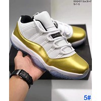 Samplefine2 NIKE Air Jordan 11 Low AJ11 Fashion Men Women Personality Sport Sneakers Basketball Shoes 5#