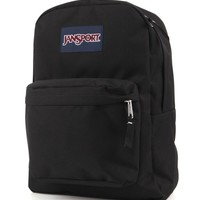 JanSport Super Break School Backpack - Womens Backpack - Black - NOSZ