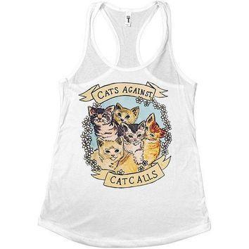 Cats Against Catcalls -- Women's Tanktop