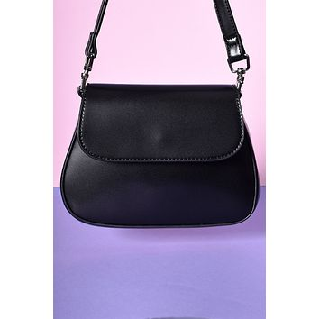 Mindy Mini Shoulder Bag - Black