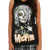 Misfits Spider Woman Girls Muscle Top